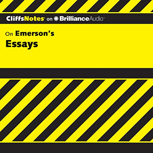 Emerson's Essays: CliffsNotes audiobook cover art