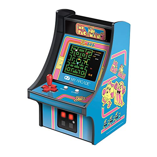 Mini Retro Arcade Game Mrs PAC-Man My Arcade