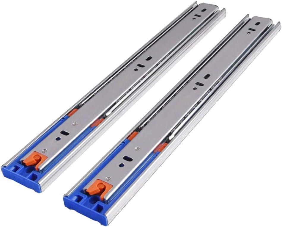 1 Pair Metal Drawer Slides - Max 73% OFF Load 3 25KG Mount Superlatite S Side Capacity