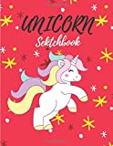 eebo unicorn sketchbook: Cute Unicorn Kawaii Sketchbook for Girls with 100+ Pages of 8.5'x11' Blank Paper for Drawing, Doodling or Learning to Draw ((Sketch Books For Kids)) (Volume 1)