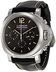 Panerai Men's PAM00356 Luminor Contemporary Chronograph Watch image