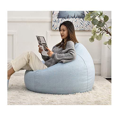 YXYXX Puff Silla, Tumbona de Respaldo Perezoso, Sofá Reclinable para Juegos en Interiores y Exteriores, Fácil de Mover/D / 60×70 cm
