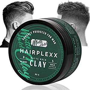 Beauty Shopping Hair Clay for Men Styling Product, Matte Finish Molding Hair Wax 2.8 Ounce, Strong