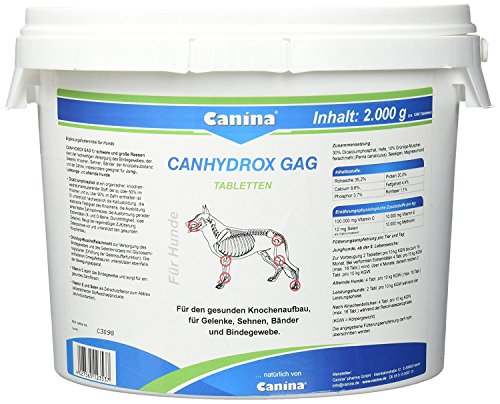 Canina Pharma Canhydrox GAG Tabletten 2000 g, Hundepflege, Tierpflege