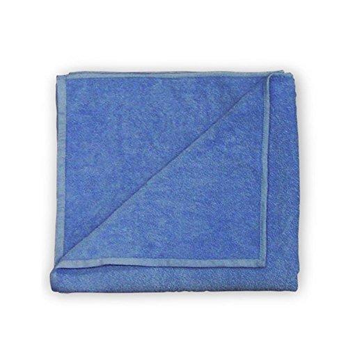 HC di Handel 936000Set da Panni in Microfibra, 50x 100cm, molto assorbente, asciugatura rapida, riechen sempre piacevole blau