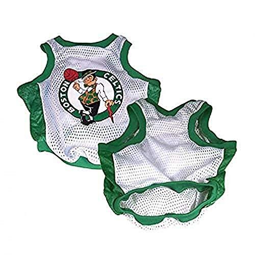 NBA Boston Celtics Basketball Dog Jersey, XX-Small