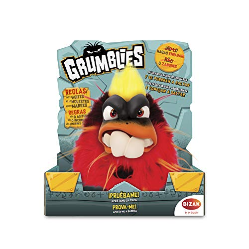 Grumblies – Scorch Toy Electronic, Red (Bizak, S.A. 63341891 _ 3)