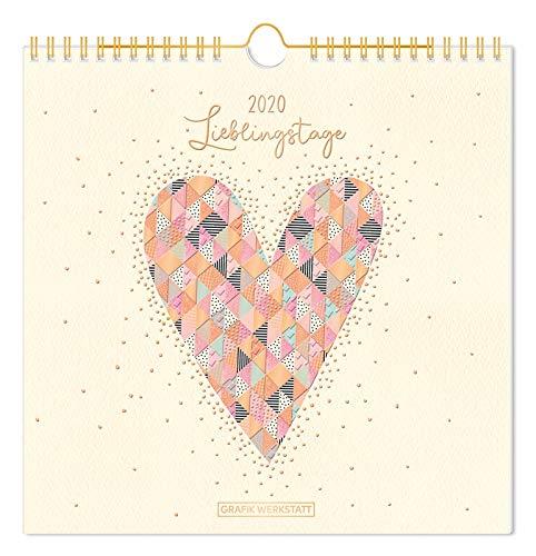Lieblingsstücke-Kalender 2020