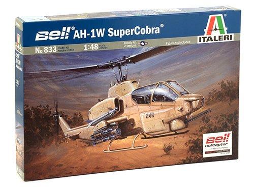 Italeri 833,  Maqueta Para Montar  Helicoptero Bell AH-1W