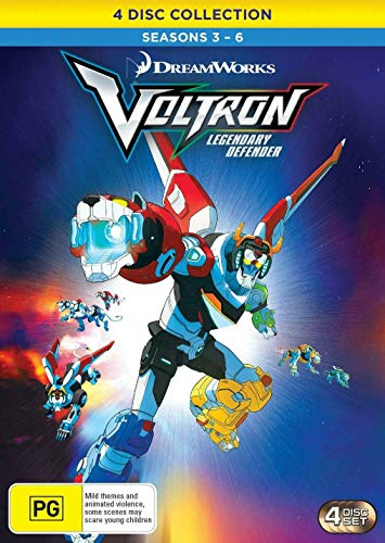 Amazon.com: Voltron: Legendary Defender - Seasons 3 - 6 ...