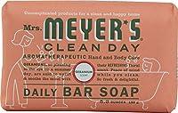 Mrs. Meyer's Clean Day Bar Soap, Geranium, 227 g Bars (Pack of 12) (並行輸入品)