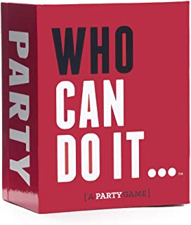 Who Can Do It - Compete with Your Friends to Win These Challenges [A Party Game]