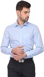 Louis Philippe Men's Solid Regular fit Formal Shirt