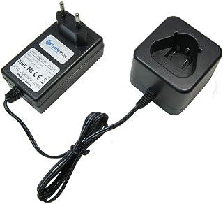Trade-Shop 12 V Li.Ion batteriladdare laddningsstation snabbladdare för AEG Milwaukee M12, M12 RED LITHIUM XC 4.0, 2590-2...