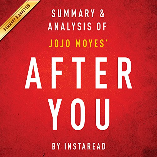 After You, by Jojo Moyes audiobook cover art