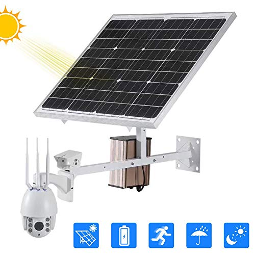 Find Bargain DBM-TOR 4G SIM/2.4GHz WiFi Connect Solar Energy Camera, Pan/Tilt/Zoom Monitor with Two-...