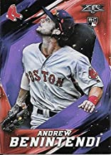 2017 Topps Fire Purple Rookie Parallel #65 Andrew Benintendi #39/99