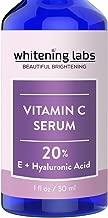 Vitamin C Serum for Face with Hyaluronic Acid Vitamin E 20 Percent. Facial Anti Aging Serum 1 FL OZ