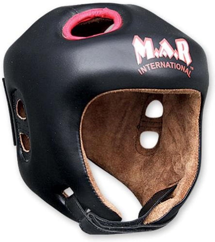 M.A.R International Ltd Kickboxen Kopfschutz Kopfschutz Kopfschutz Thai Boxing MMA Muay Thai Taekwondo Karate Judo Training Junior schwarz schwarz Junior B00GBU225E  Zu verkaufen 0329e5