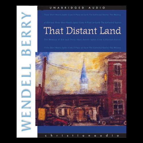 That Distant Land audiobook cover art