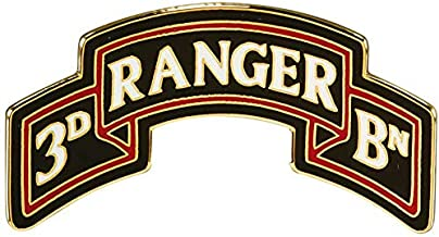 3rd Ranger Battalion Scroll (75th Ranger Regiment) Enamel CSIB