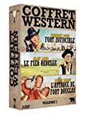 Coffret Western : L'Attaque Douglas + Le Fier Rebelle + Fort...