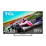 TCL QLED 65C728 - Televisor 65 Pulgadas, Smart TV 4K HDR PRO, 100hZ Motion Clarity Pro, HDR Multi-Format, Game Master Pro, Sonido Onyko Dolby Atmos, Google Assistant Incorporado, Compatible con Alexa