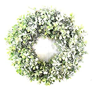 Anchor1 Artificial Flower Wreath Beautiful Silk Summer Wreath for The Front Door, Home Decor in Fall, Weddings