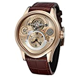 Reloj Hombre Nuevo 316 Caja de Acero Inoxidable Completa Cinturón de Cuero Genuino Relojes automáticos para Hombre Marca Superior
