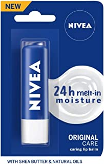 NIVEA Lip Balm, Essential Care, 4.8g