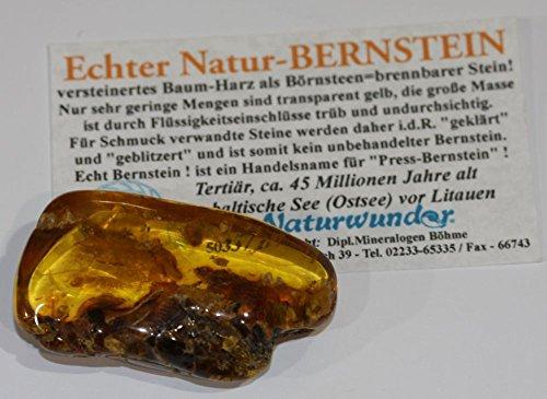goldgelb-brauner Ostsee - BERNSTEIN - Riesen - Handschmeichler ! 21-19 Gramm schwer ! SONDERPOSTEN