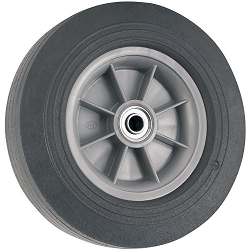 Flat Proof Replacement Wheel - 10-Inch - 300 lb. Load Capacity - For use on Wagons, Carts, & Many Other Products