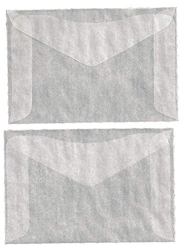 One Hundred (100) #4 Glassine Envelopes -- 3 1/4 x 4 7/8