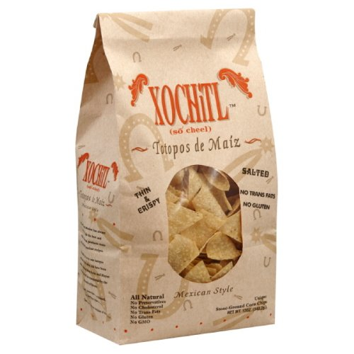 Xochitl Corn Chips, 12-Ounce (Pack of 10)