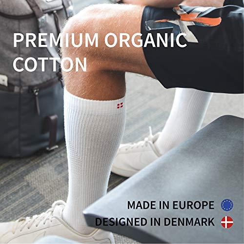 Graduated Danish Endurance Compression Socks in Organic Cotton