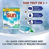 Sun Tablettes Lave-Vaisselle Tout En 1 62 Lavages Format Familial