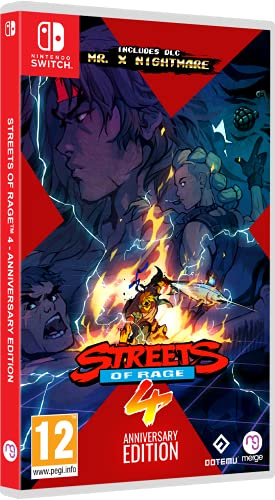 Streets of Rage 4. Anniversary Edition - Nintendo Switch