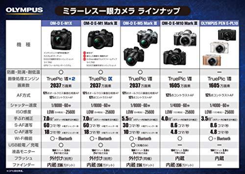 OLYMPUSミラーレス一眼カメラOM-DE-M10MarkIIIEZダブルズームキットブラック