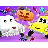 幽霊の車/ハロウィンの幽霊/カーシティで宝探し/悪のロボット警察