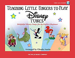 Teaching Little Fingers to Play Disney Tunes + Aud