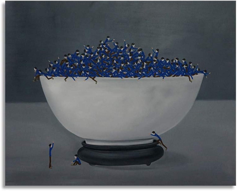 Pmhhc Frameless Malen Nach Zahlen Kunst Malen Nach Zahlen Großes Bild König DIY DIY Öl Charakter Illustration Realismus Blaue Schurke Serie B07P6WJ347 | Schönes Aussehen