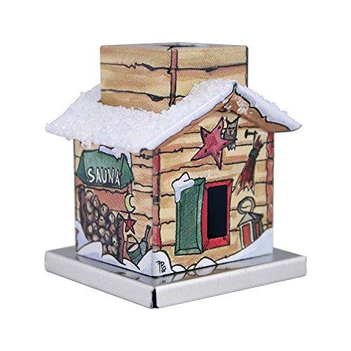 Knox-The Little One - Rookhuizen voor rookkaarsen maat S - verschillende motieven sauna.