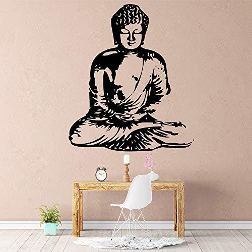 Tianpengyuanshuai Buddha Wandkunst Aufkleber Dekoration Mode Aufkleber Wandtattoo 36X42cm