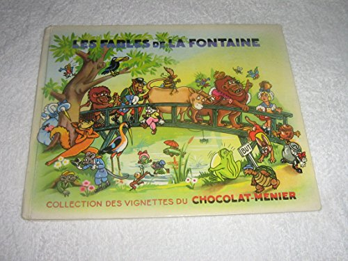 LES FABLES DE LA FONTAINE - COLLECTION DES VIGNETTES DU CHOCOLAT-MENIER - INCOMPLET.