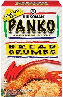Kikkoman Panko Bread Crumbs Japanese Stype 3 - 1 pound boxes