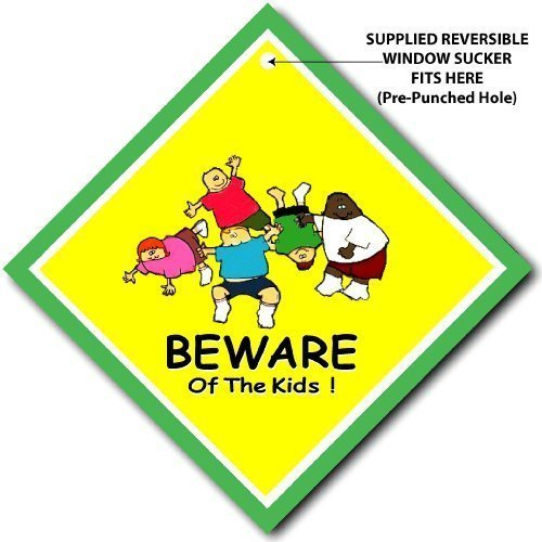 Beware of the Kids Panneau/maison Panneau Style bébéà bord, panneau de porte/chambre