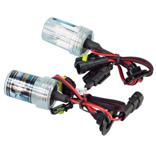 New Car Auto Headlight Lamp Bulbs 9006-6000K HID Xenon Replacement Light Bulbs 35W 12V Low-Xenon Beam Lights