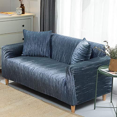 WXQY 24 Colores para Elegir Funda de sofá Asiento elástico Fundas de sofá loveseat sillón Fundas Fundas sofá Toalla 1/2/3/4 plazas A4 1 Plaza