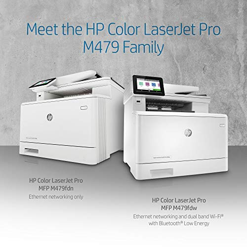 HP Color LaserJet Pro Multifunction M479fdw Wireless Laser Printer with One-Year, Next-Business Day, Onsite Warranty, Works with Alexa (W1A80A) Photo #7