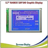 """MYERZI 5.7""""320x240 320240 320240 Graphic LCDモジュール表示パネルスクリーンLCM LEDバックライト付きコントローラブルーホワイトLCD (Color : Blue Color)"""